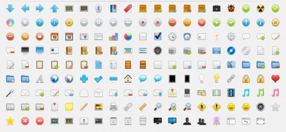 170 Free Web Icons