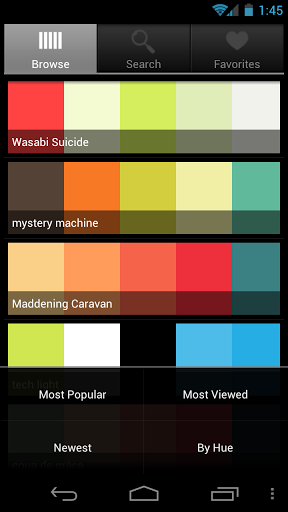 Color Pal Android App