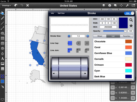 Touch Draw iPad App