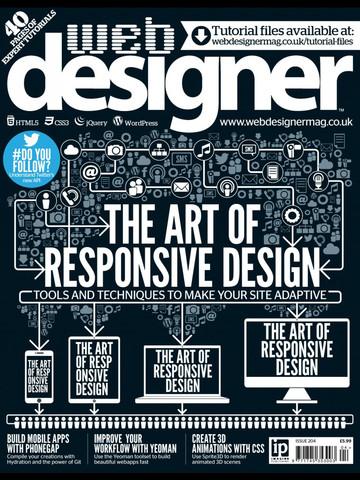 Web Designer Magazine iPad App
