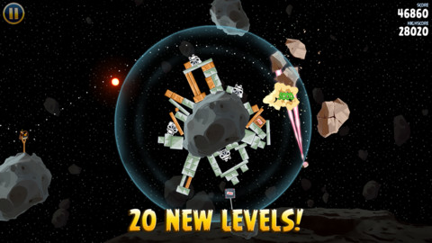 Angry Birds Star Wars for iPhone