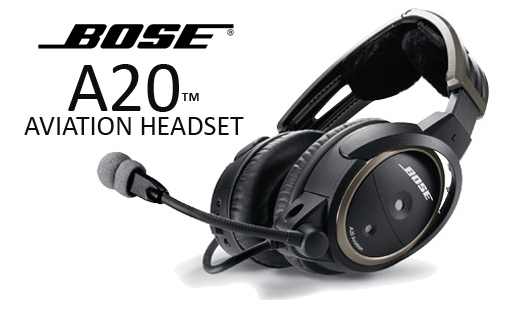 A20 Aviation Headset - Bose Product Support