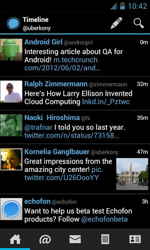 Echofon PRO Twitter for Android