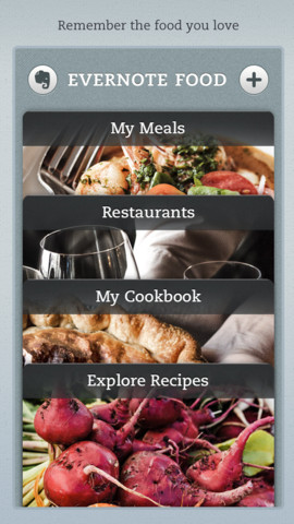 Evernote Food iOS App