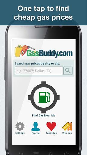 Gasbuddy-Find Cheap Gas Android App