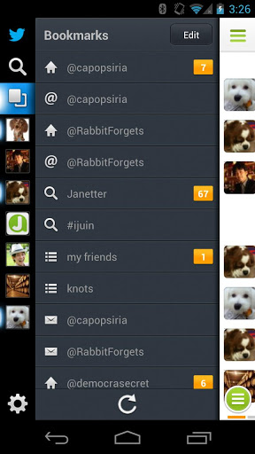 Janetter Pro Twitter App for Android