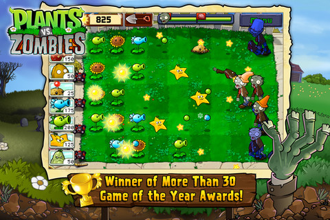 Plants vs. Zombies for iPhone & iPad