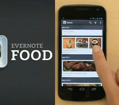 Evernote Food App for iOS Devices – Review