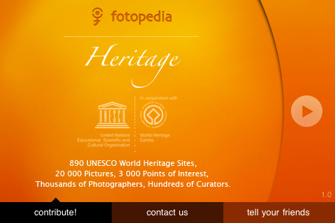 Fotopedia Heritage iPhone App