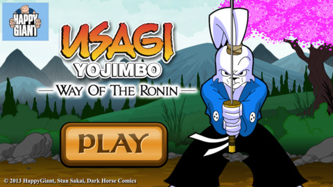 Usagi Yojimbo- Way of the Ronin iPhone Game