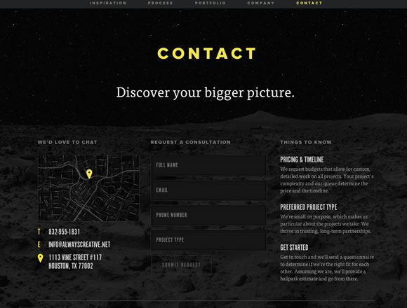 Contact Us Page Design 8