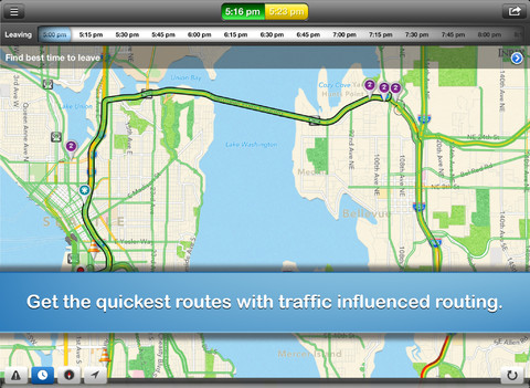 INRIX Traffic iPhone App