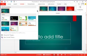 MS PowerPoint 2013
