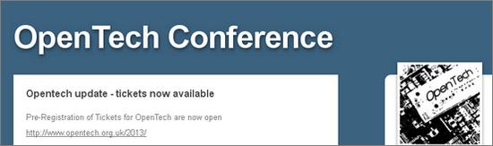 OpenTech 2013