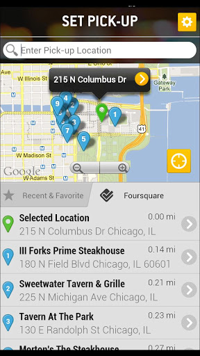 Taxi Magic Android App