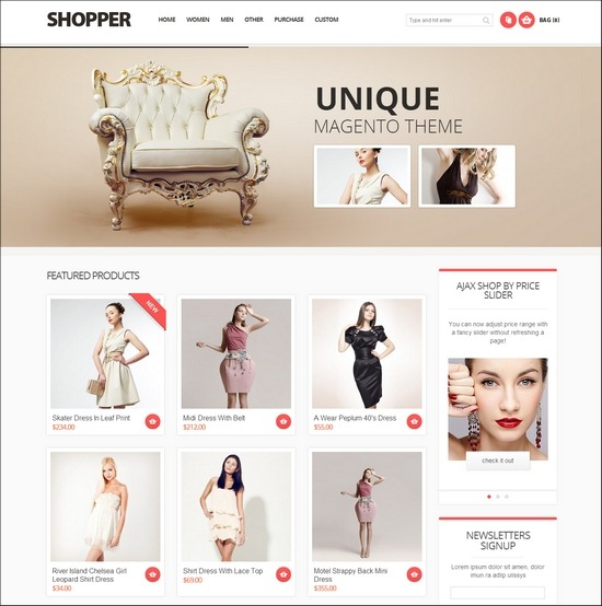 Shopper Magento Responsive Theme