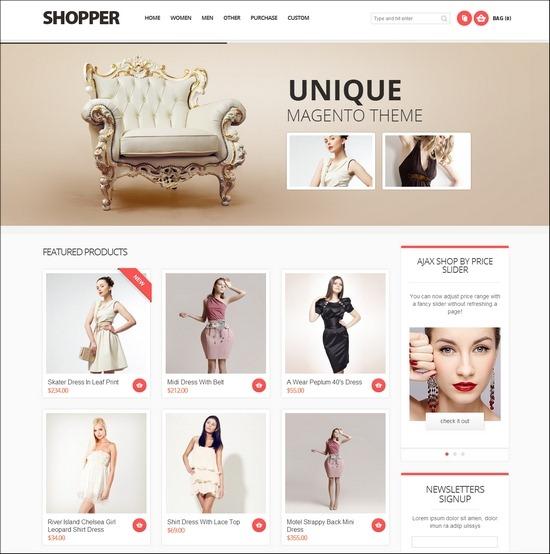 Shopper Magento Responsive Theme