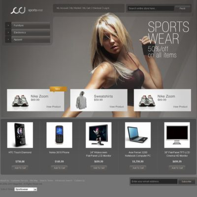 16 Best Magento Themes for 2013 – Online eCommerce Store Templates