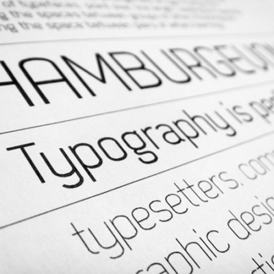 5 Best and Worst Fonts for Printing