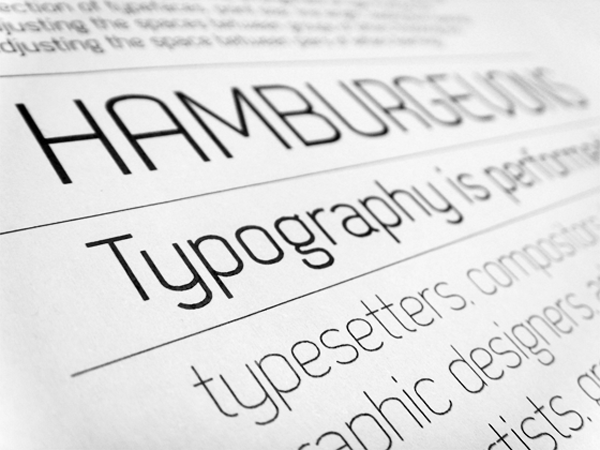 5 Fonts for Printing