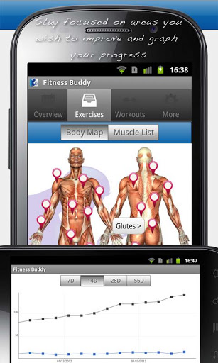 Fitness Buddy 1700 Exercises Android App