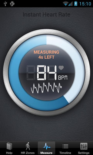 Instant Heart Rate Google App