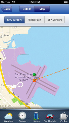 Next Flight iOS App