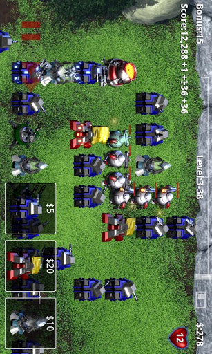 Robo Defense Game