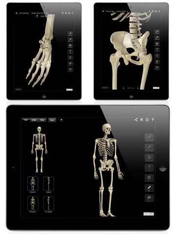 Skeleton System Pro III iPad App