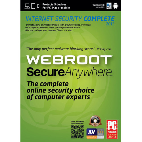Web Root Internet Security