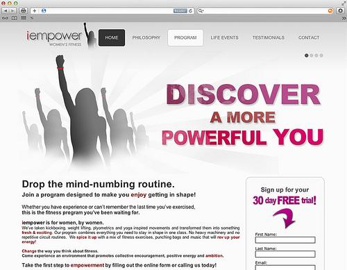 advantages of own website