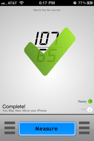 BloodPressure Pro iPhone App