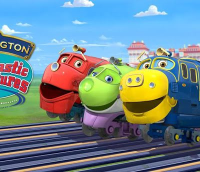 Chuggington iPhone/iPad & Android App for Kids Train Game