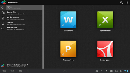 OfficeSuite Viewer 7 Android App