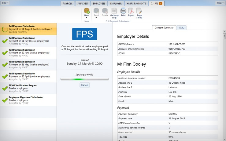 Payroll Software Features