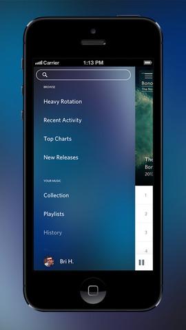 Rdio iOS App