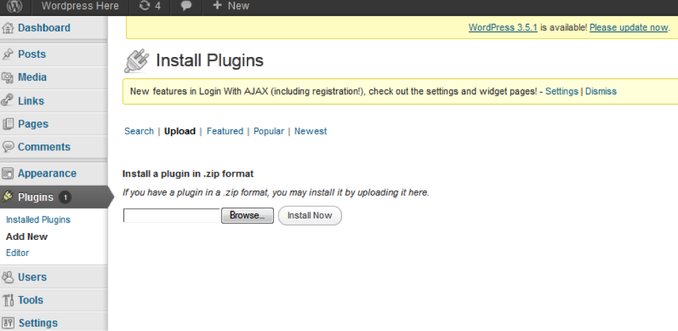 cubepoint wp plugin install