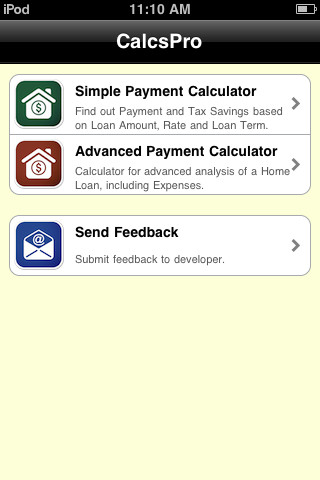CalcsPro Mortgage Calculators