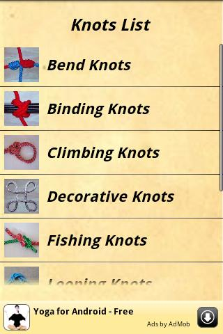 Knots Guide Android App