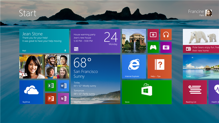 Windows 8.1 Interface
