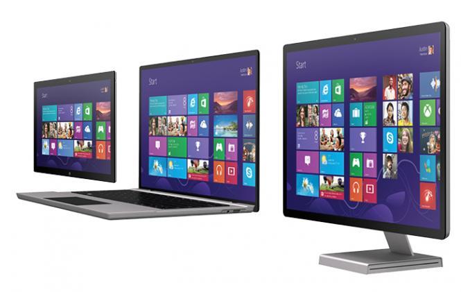 Desktop, Laptop or Tablet PC
