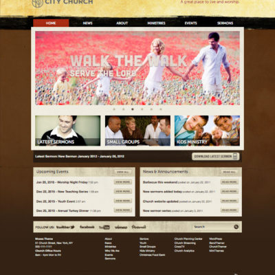 5 Exclusive Church WordPress Themes for Non-Profit Organization