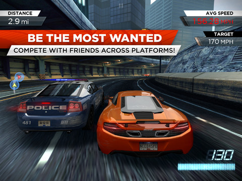 Need for Speed iPhone App Game