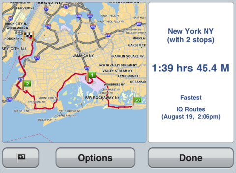 TomTom U.S.A iPhone app