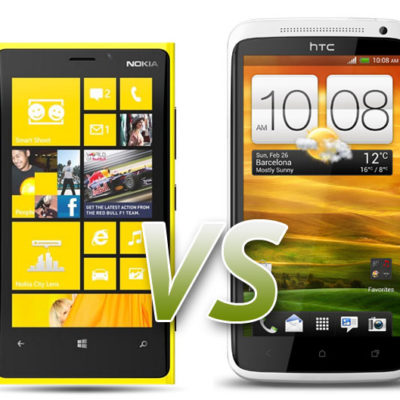 The Nokia Lumia 920 Compared With The HTC One X+