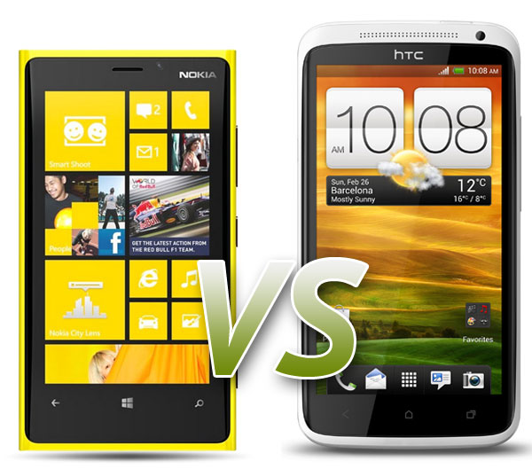 Nokia Lumia 920 & HTC One X