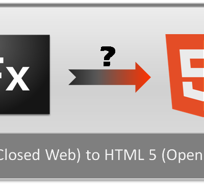 5 Factors to Learn to Move Ahead With The Process of FLEX to HTML5 Conversion!!