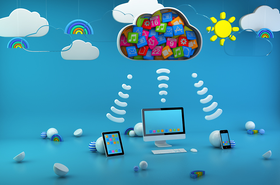 Mobile Applications into the Cloud