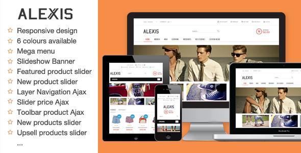 Alexis Fashion Responsive Magento Theme