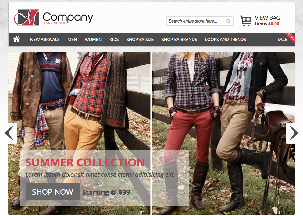 Fashion Store Theme MajoThemes